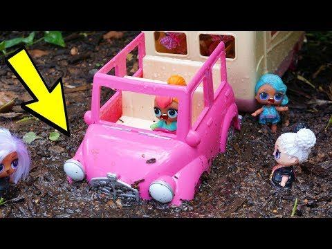 Lol Surprise Dolls Go Camping And It Turns Into A Disaster!