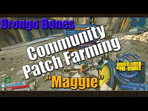 Borderlands The Pre Sequel | Farming Drongo Bones For The Maggie | Complete Loot Overhaul Patch
