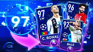 97 Ovr Ronaldo /champions League Pack Opening In Fifa Mobile 19 - Round Of 16