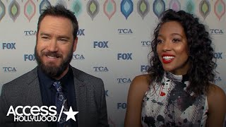 Mark-Paul Gosselaar & Kylie Bunbury On The Training They Had To Do For 'Pitch'