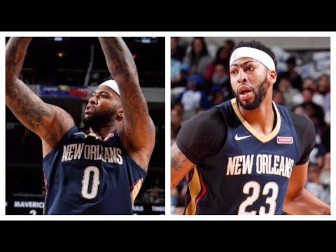 DeMarcus Cousins and Anthony Davis Combine For 50 to Beat the Mavs | November 3, 2017
