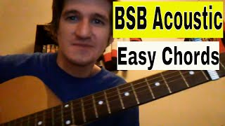 How to play All I Have to Give- Backstreet Boys- Easy Beginner Guitar Lesson