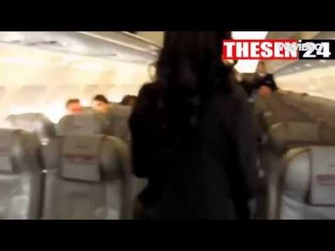 Germanwings Plane Crash Inside The Plane Captured By Passenger