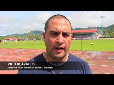 American Youth Football of Samoa – President, Victor Avalos (2)