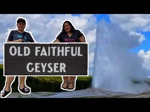 OLD FAITHFUL GEYSER | YELLOWSTONE NATIONAL PARK