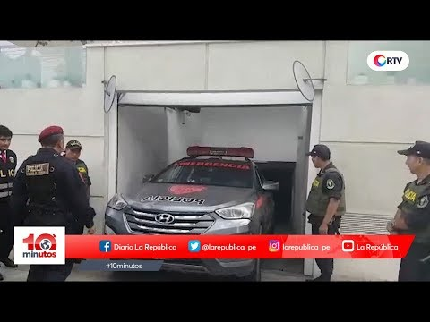 Allanan viviendas de árbitros que favorecieron a Odebrecht - 10 minutos Edición Matinal