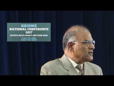 Sathya Sai International Organisation of NZ Conference 2017 - PART 12 Dr Reddy