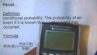 4 3 2 Contingency Tables and Conditional Probability