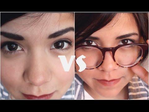 3a5741b8b982b Lentes de CONTACTO vs GAFAS♡ - MissSparrowrawr - YouTube