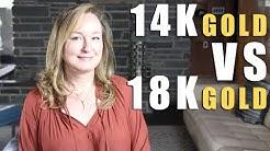 14K vs  18K GOLD | Jill Maurer