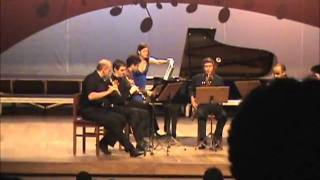 Poulenc - Sextet for piano and wind instruments (III - Finale - Prestissimo)