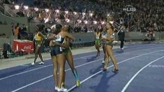 Allyson Felix three-time champion - from Universal Sports
