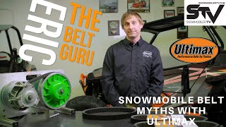 Snowmobile Belt Myths with Ultimax