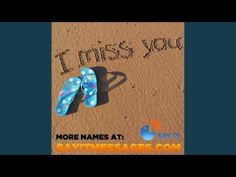 I Miss You Eve
