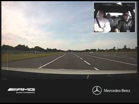 E63 AMG Driving experience at Mercedes-Benz World, Brooklands
