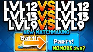 UPDATE: New Matchmaking Algorithm, Free Emote, & More