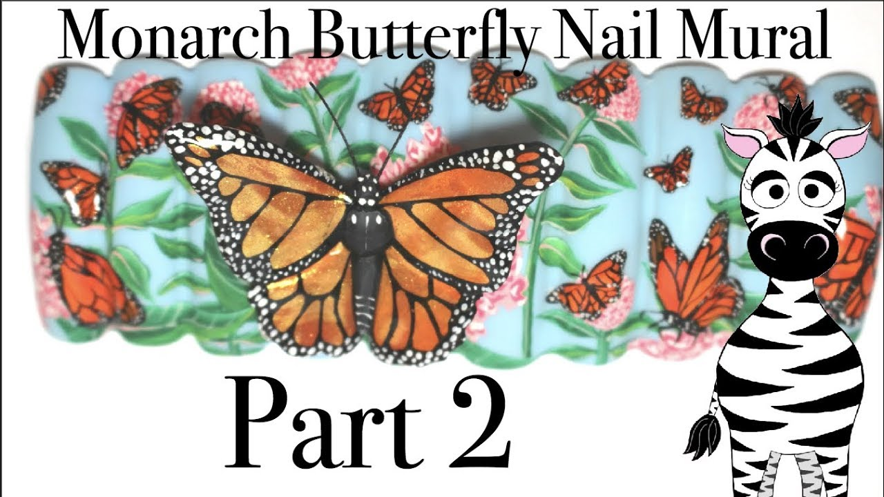 3d Monarch Butterfly 2018 Nail Mural Tutorial  Part 2. Control Signs Of Stroke. Windowless Murals. Family Day Lettering. Large Advertising Banners. B1 Sap Banners. Die Cut Labels. Water Signs Of Stroke. Tea Party Signs Of Stroke