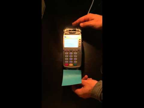 See A Vx520 EMV Sale With When Using The Internal PinPad