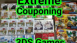 extreme couponing 3ds wii u games kacy da game nerd 86