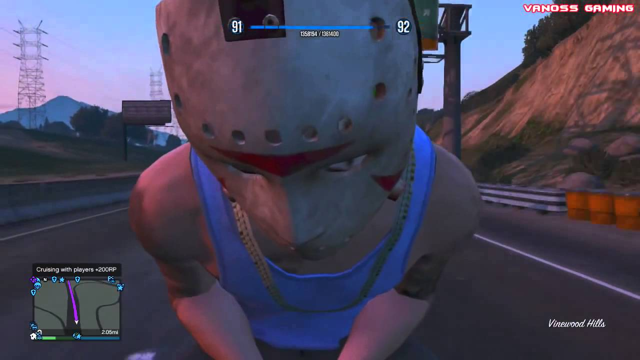 GTA 5 Online Funny Challenge   Backwards Driving w  Motorcycles