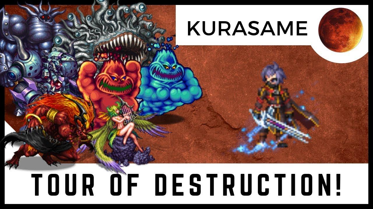 KURASAME TOUR OF DESTRUCTION | Triple Cast Quick Hit Frames, Are You