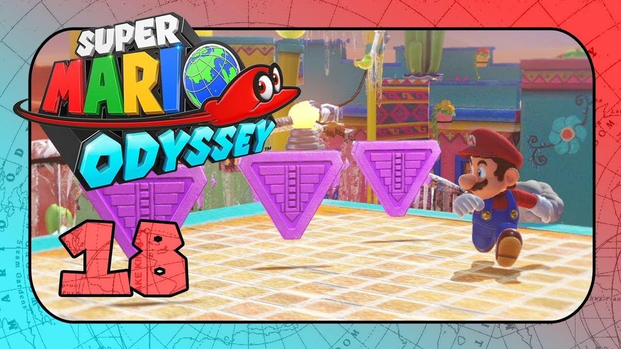 Super Mario Odyssey Part 18 Die Jagt Der Lila Münzen Youtube