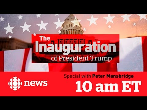 CBC News Special: The Inauguration of President Trump