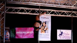Miss Texas Pole Dance Competition 2011 - Nicki Shaw