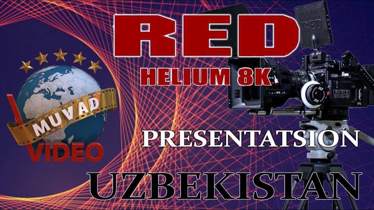 Presentatsion RED HELIUM 8K Uzbekistan