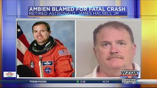 Lawyer for ex-astronaut charged in fatal crash blames Ambien