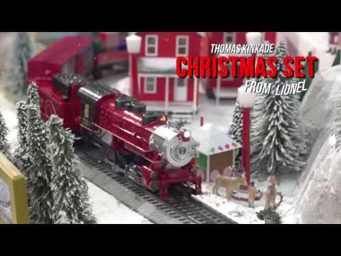 Thomas Christmas Train Set.Lionel S Thomas Kinkade Christmas Ready To Run Set