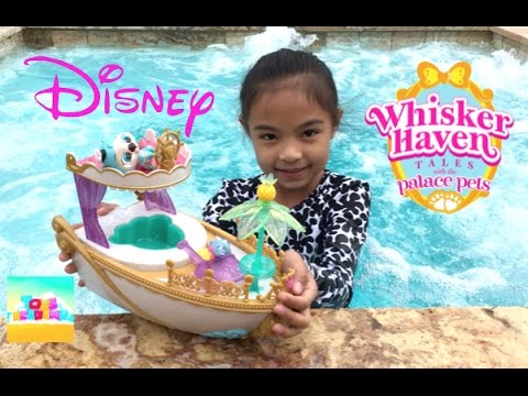 Disney Whisker Palace Pets S.S. Pawcation Royal Yacht Unboxing | Toys Academy