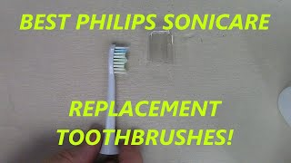 REVIEW  8 PACK Replacement for Philips Sonicare Toothbrushes