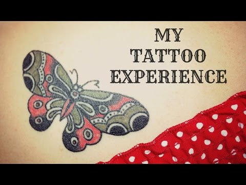 My Tattoo Experience- Traditional Butterfly
