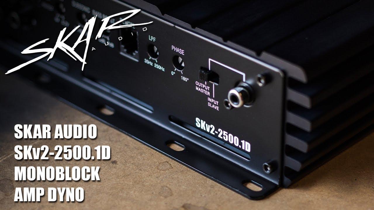 Skar Audio - SKv2-2500 1D | 2,500 Watt Class D Monoblock Car