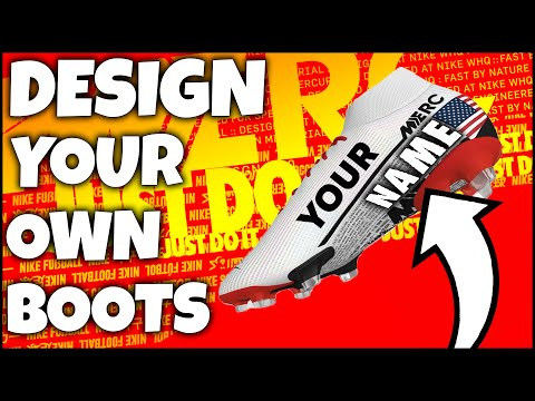 How To Design Your Own NIKE Boots! Feat. CR7, Mbappe, Sancho, Neymar & Hazard
