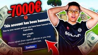 J'ACHÈTE 7000€ DE V-BUCKS ET ME FAIS BAN DE FORTNITE