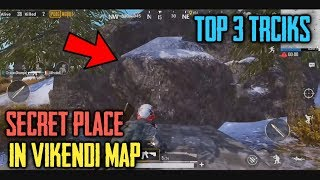 BEST SECRET PLACES IN VIKENDI Snow Map | PUBG Mobile Top 3 Latest Tips and Tricks | NO ONE KNOW