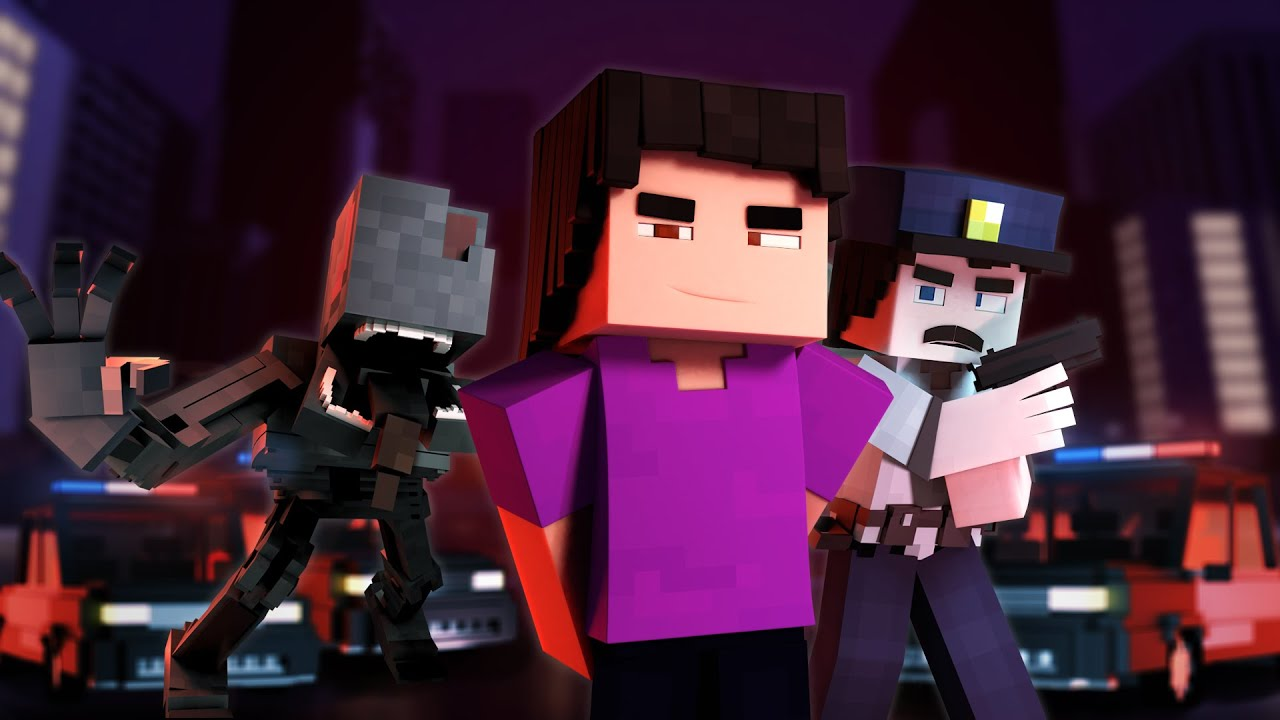 """Download """"The Great Collapse""""   Minecraft FNAF Animation Music Video   Madman 3"""