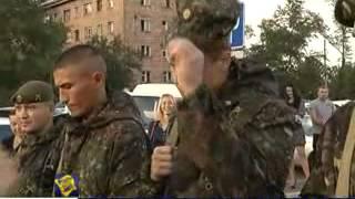 Отправка бойцов УФСИН в Чечню