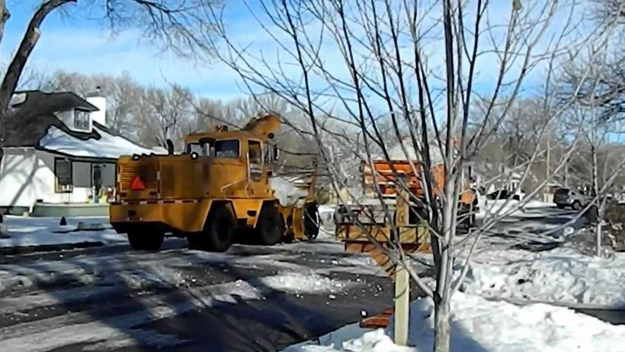 Snow Removal in Lamar, CO - YouTube