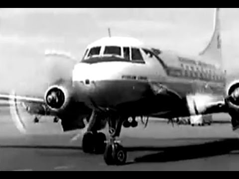 """SAS Convair CV-440 - """"Arrival Sweden"""" - 1965"""