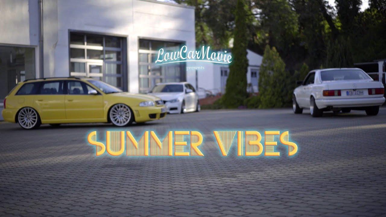 "Audi RS4, Mercedes SEC, BMW F31 in ""Summer Vibes"" by LowCarMovie"