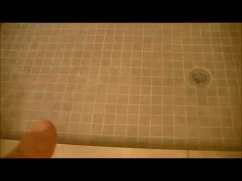 FIBERGLASS TUB/SHOWER COMBO-convert to walk in tiled shower - YouTube