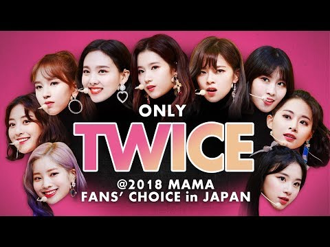 TWICE At 2018 MAMA FANS' CHOICE  In JAPAN   All Moments