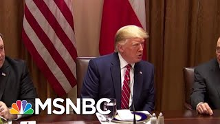 Iran Leaders Lash Out At President Trump Over 'Idiotic' New Sanctions | Velshi & Ruhle | MSNBC