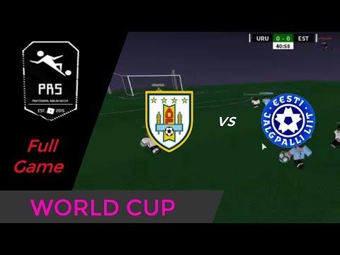 [WC PRS] Uruguay vs Estonia    Group fase    FULL GAME!