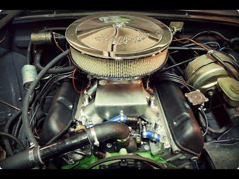 Волга ГАЗ 2410. Звук выхлопа V8 ЗМЗ 5,5 литров - GAZ ROD Гараж