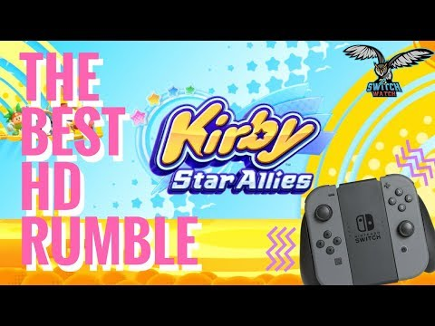 Kirby Star Allies has the Best HD Rumble (End Game Spoilers!)