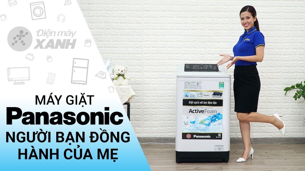 Máy giặt Panasonic 8,5 kg NA-F85A4HRV – Người bạn đồng hành của mẹ   Điện máy XANH